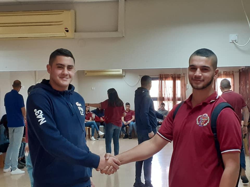 انتخاب الطالب عبدالله ابراهيم من المدرسة الثانوية رئيسا لمجلس الطلاب البلدي